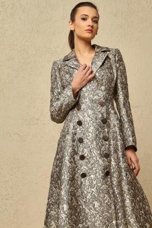 BERRENstudio - Düğmeli Ceket Elbise